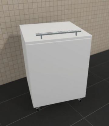 Puris Fine Line Badmöbel Wäscherolli 47 cm