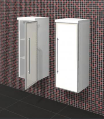 Puris Fine Line Highboard + Alu 30 cm | Maßvariabel