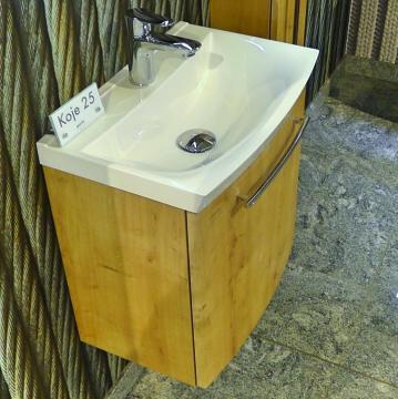 Puris For Guests Waschtischunterschrank Set K - Mineralmarmor Waschtisch