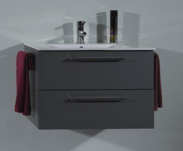 Puris Fresh Badmöbel Waschtischunterschrank für Keramik 70 cm