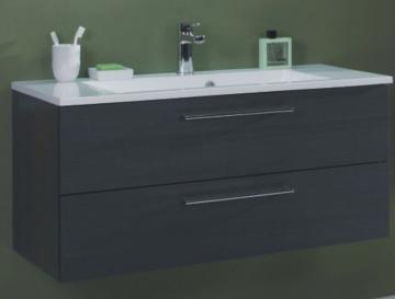 Puris Fresh Badmöbel Waschtischunterschrank für Mineralmarmor 100 cm
