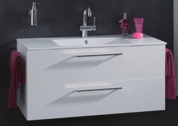 Puris Fresh Badmöbel Waschtischunterschrank für Keramik 100 cm