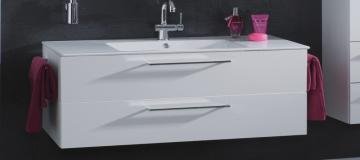 Puris Fresh Badmöbel Waschtischunterschrank für Keramik 120 cm