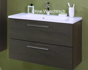 Puris Fresh Badmöbel Waschtischunterschrank für Mineralmarmor 70 cm