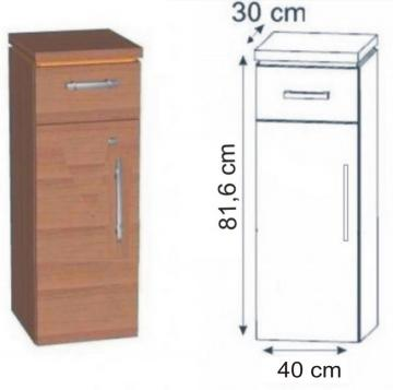 Puris Fresh Highboard 40 cm