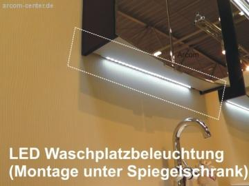 Puris Fresh LED Waschtischbeleuchtung | 86 cm