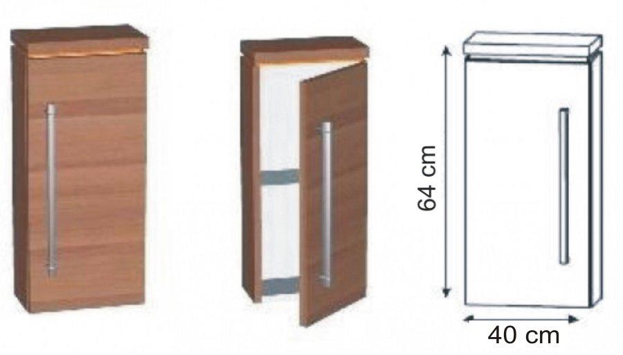 puris fresh oberschrank 40 cm badschrank g nstig. Black Bedroom Furniture Sets. Home Design Ideas