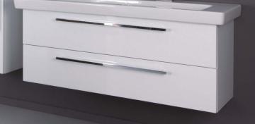 Puris Kera Trends Doppel WT-Unterschrank | 2 Auszüge | 120 cm [ Keramag | iCon 1200 ]