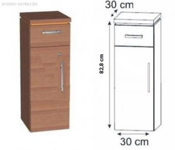 Puris Kera Trends Highboard 30 cm