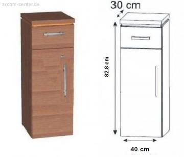 Puris Kera Trends Highboard 40 cm