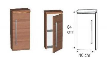 Puris Kera Trends Highboard 40 cm Tiefenvariabel