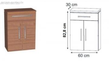 Puris Kera Trends Highboard 60 cm