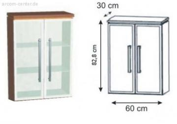 Puris Kera Trends Highboard Alu 60 cm