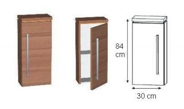 Puris Kera Trends Highboard Tiefenvariabel 30 cm