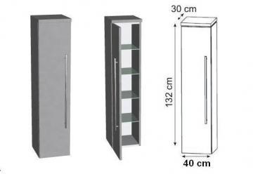 Puris Kera Trends Mittelschrank 40 cm mit Innenschubkasten