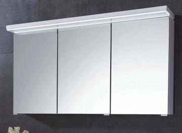Puris Kera Trends Spiegelschrank C 120 cm | Gesimsboden Flächenleuchte