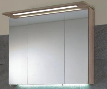 Puris Kera Trends Spiegelschrank B 75 cm | Gesimsboden LED