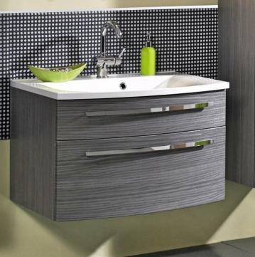 Puris Linea Waschtisch mit Unterschrank Set | Breite 70 cm