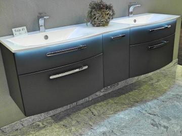 Puris Linea Waschtisch mit Unterschrank Doppelbecken 170 cm