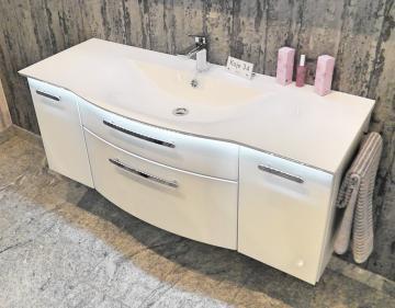 Puris Linea Waschtisch mit Unterschrank Set 130 cm