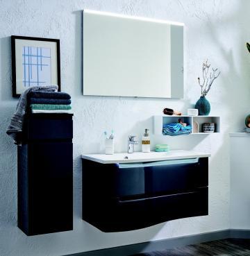 Puris Purefaction Set D 90 cm | Spiegel | Ablage rechts