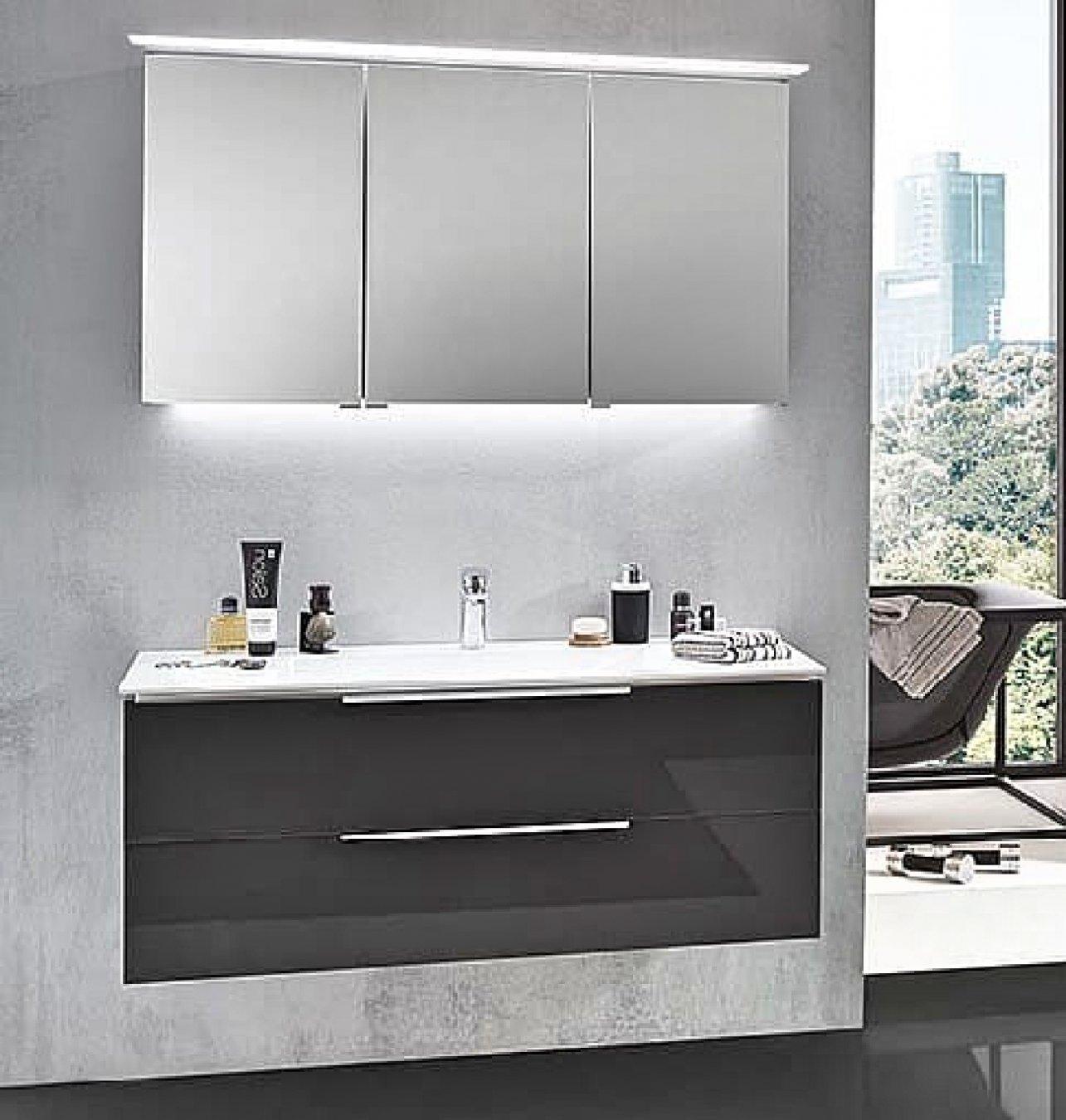 puris slim line 120 cm badm bel set. Black Bedroom Furniture Sets. Home Design Ideas