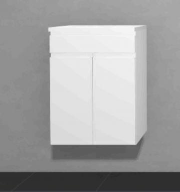 Puris Slim Line Badmöbel Highboard 60 cm