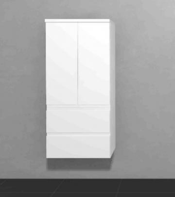 Puris Slim Line Badmöbel Mittelschrank 60 cm