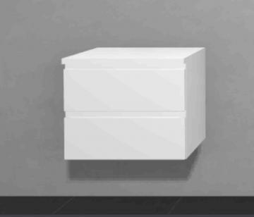 Puris Slim Line Badmöbel Unterschrank 2 Auszüge 60 cm