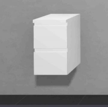 Puris Slim Line Badmöbel Unterschrank 30 cm
