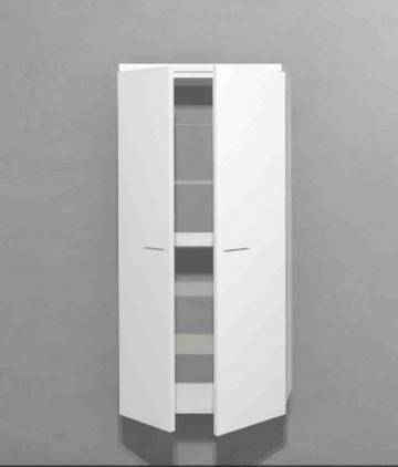 Puris Slim Line Mittelschrank 2 Türen
