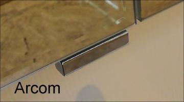 Puris Speed Griffblock für Spiegelschranktür