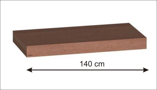 Puris Star Line Steckboard 140 Cm