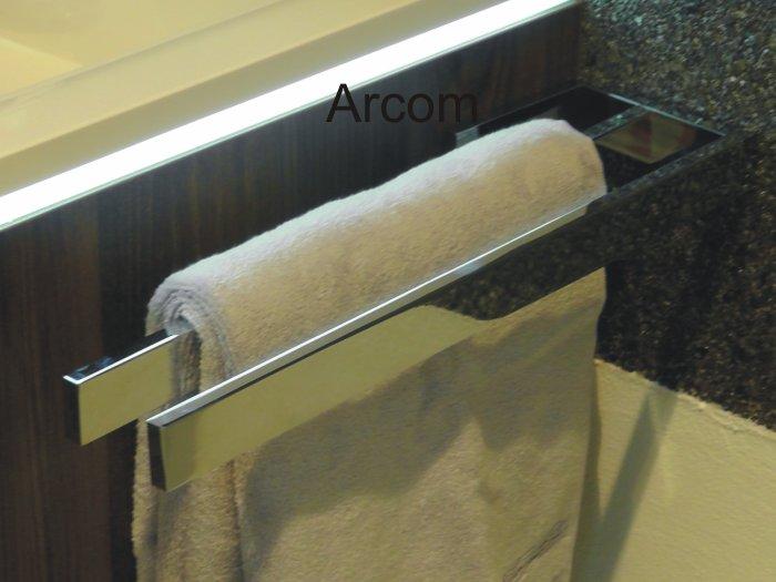 star line handtuchhalter 2 armig arcom center. Black Bedroom Furniture Sets. Home Design Ideas