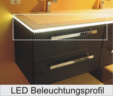 Puris Star Line LED Beleuchtungsprofil 160 cm