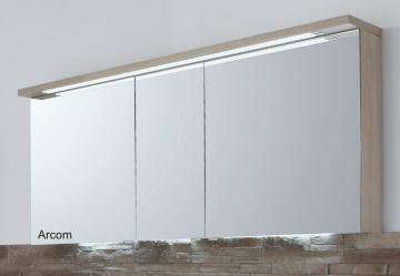 Puris Star Line Spiegelschrank + Gesimsboden 160 cm