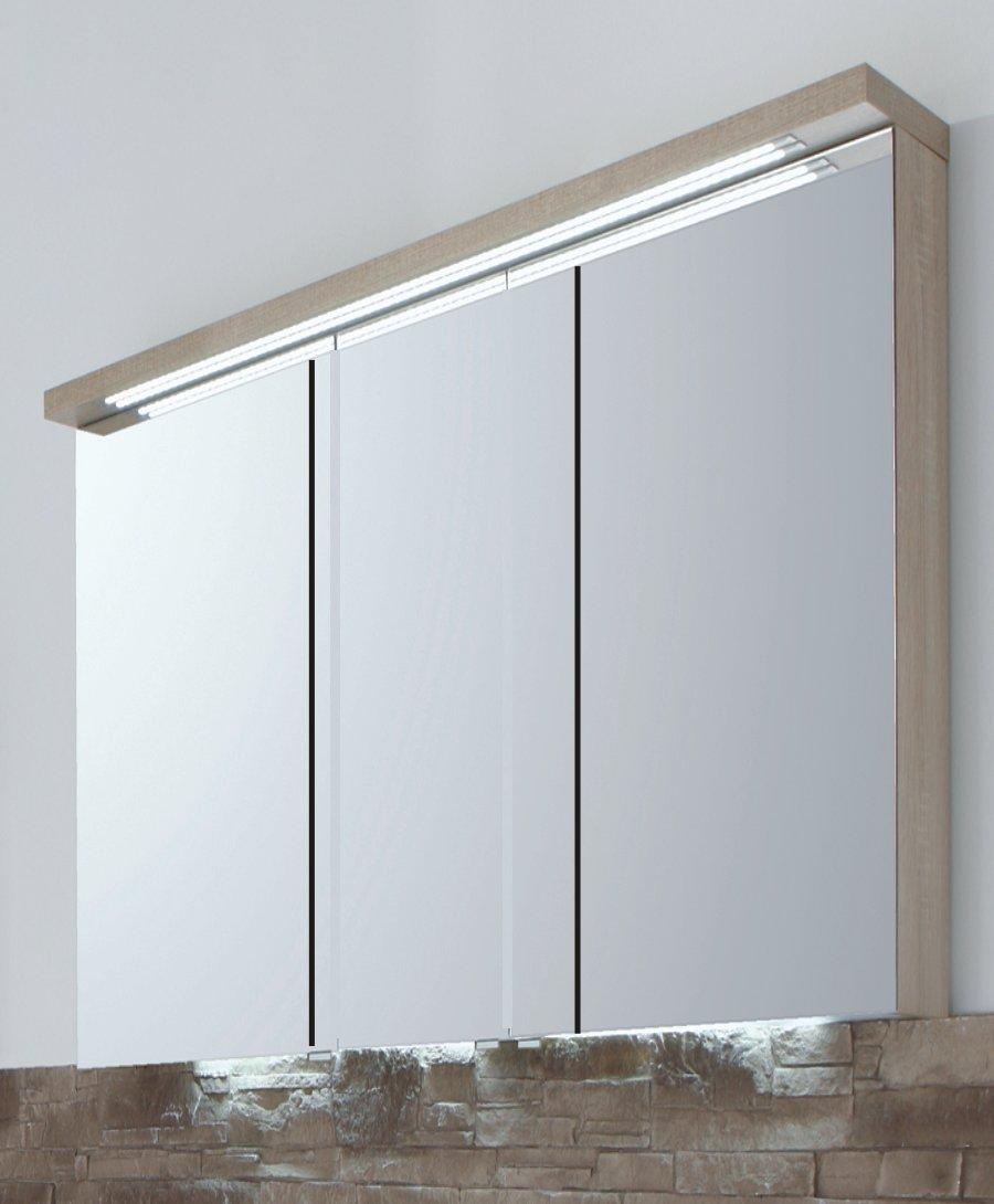 Puris star line spiegelschrank 90 cm gesimsboden - Spiegelschrank 90 cm ...