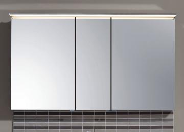 Puris Star Line Spiegelschrank + LED Flächenleuchte 140 cm