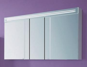 Puris Star Line Spiegelschrank + Spiegelblende 120 cm