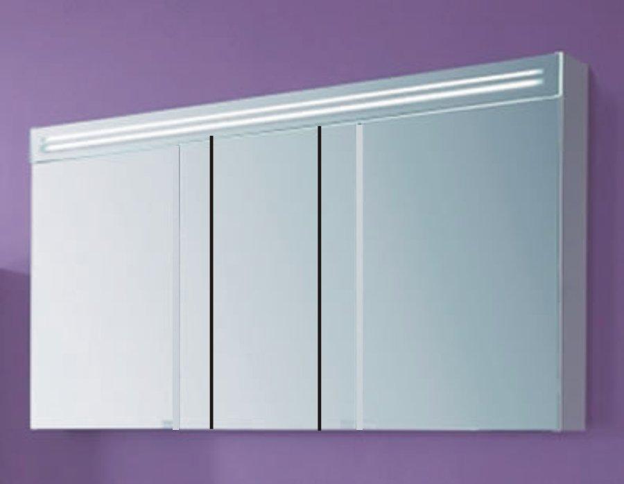 puris star line spiegelschrank 140 cm badm bel arcom center. Black Bedroom Furniture Sets. Home Design Ideas