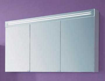 Puris Star Line Spiegelschrank + Spiegelblende 140 cm