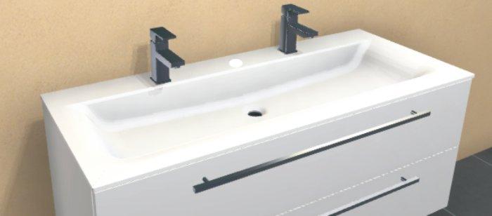 puris star line waschtisch serie b 120 cm swm922d2. Black Bedroom Furniture Sets. Home Design Ideas