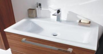 Puris Star Line 90 cm | Waschtisch Glas