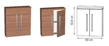 Puris Swing Highboard 60 cm Tiefenvariabel