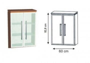 Puris Swing Highboard Alu 60 cm Tiefenvariabel