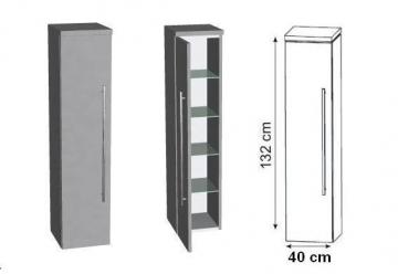 Puris Swing Mittelschrank 40 cm Tiefenvariabel