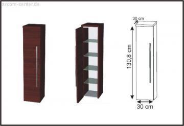 Puris Swing Mittelschrank + Innenschubkästen 30 cm