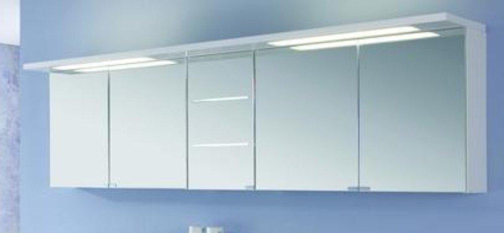 Puris Swing Set Q 180 cm | Spiegelschrank Geschlossen