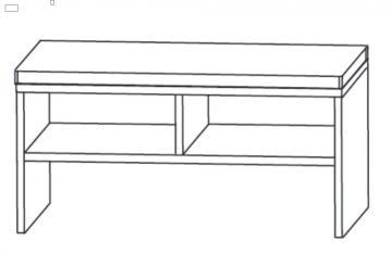 Puris Swing Sitzbank 90 cm