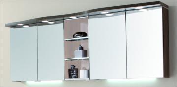 Puris Swing Spiegelschrank + Regal 180 cm Serie B
